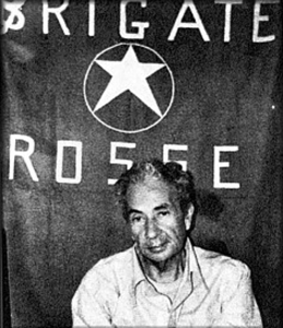 Aldo Moro during his kidnapping
